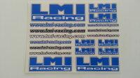 Aufkleber LMI Racing  Dekorbögen 1 Stk....