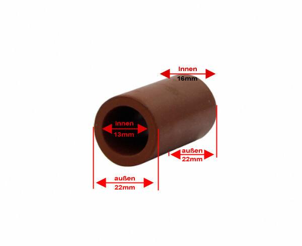 Auspuff schlauch Silikonschlauch konisch 13mm auf 16mm 22mm außen