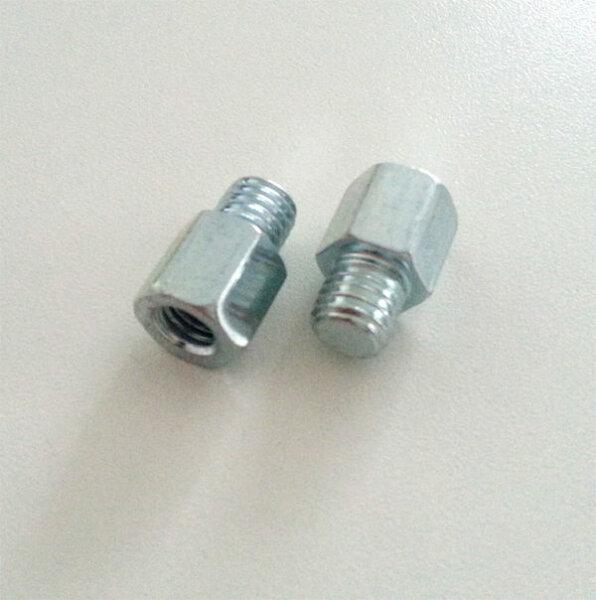 Reduzierstücke verschiedene Gewindevarianten M8 M6 M10 verzinkt