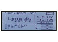 Fernsteuerung + 2x Empfänger Hitec LYNX 4S 2.4GHz...