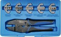 BGS 1410 Satz Kabelschuhzange mit 5 Wechselbacken...