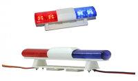 Polizei Lichter LED Lichtbalken JR Stecker 6 - 9 Volt...