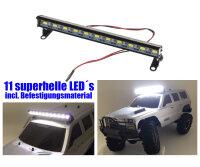 Aluminium LED Strahler ULTRAHELL Beleuchtung 11...