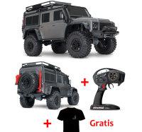 Traxxas Defender Grau 4x4 RTR Crawler TQI 2.4GHZ TRX82056-4S