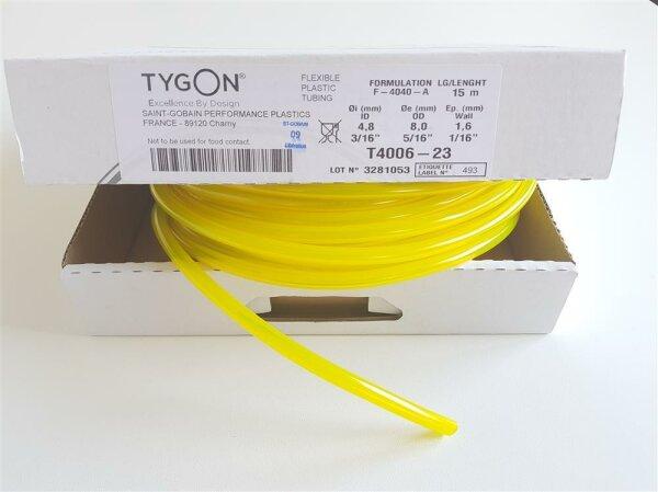 Original Tygon F-4040-A Kraftstoffschlauch Benzinschlauch Ø 4,8mm 0,5 Meter