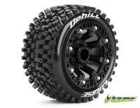 Louise ST-UPHILL 2.2 Soft Reifen auf Felge schwarz E-Revo...