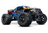 TRAXXAS X-Maxx 4x4 VXL blau RTR ohne Akku/Lader 1/7 4WD...