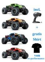 Traxxas X-Maxx 4x4 VXL 8S Monster Truck TRX77086 alle Farben
