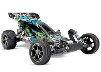 Traxxas Bandit VXL Brushless 2WD 1/10 Buggy Grün...