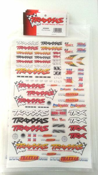 Team Traxxas Dekorbogen 299950 9950 Aufkleber Karosserie Folie Slash E- Revo