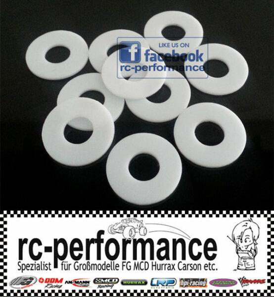 Teflon Dichtungen 16mm x 6,5mm x 1mm Druckminderer Tauchflasche Diverse Dichtung