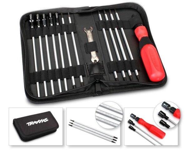 TRAXXAS Werkzeug-Set 12 tgl TRX3415 für alle TRAXXAS Modelle Innensechskant etc.