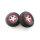 Traxxas Reifen+Felge montiert Slash 4x4 vo/hi rot/chrome 295867 5867 Axial Exo