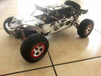 Traxxas Reifen+Felgen montiert vo/hi Rot 5877A Axial Exo...