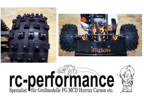 Winter Spikes für Großmodelle FG HPI MCD Hurrax Carbonfighter Motocross