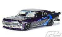 Pro-Line 1969 Chevrolet Nova Karo Klar Chevy für 2WD...