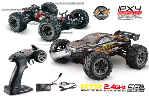 Absima RC Elektro 1:16 High Speed Truggy Racer RTR incl. Akku 4WD RTR 16003