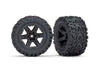 Traxxas Räder für Rustler 4x4 schwarz Talon...