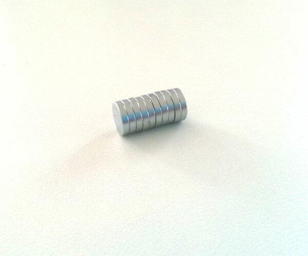10 Stück Extra starke Neodym Magnete 10 x 1,5 mm Scheiben runde 10mm x 1,5mm