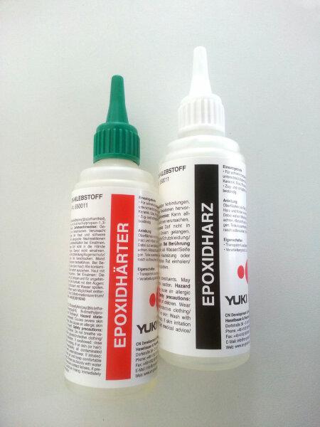 30 Minuten-Epoxy 200g Epoxidharz 100g Epoxidhärter 100g Epoxi Yuki 650011 FG