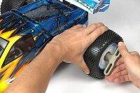 Hudy Schraubenschlüssel 17mm Off-Road Felgenbefestigung 107570 Mutter Schlüssel