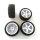 Reifen + Felgen Set Räder für HPI Wr8 Flux Ken Block  NEU TOP Angebot 4 Stk.