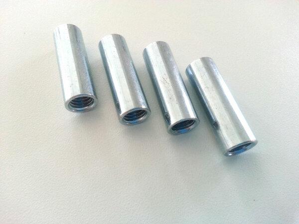 Abstandsbolzen M10 Innengewinde 40mm Länge FG Abstandshalter Gewindehülse