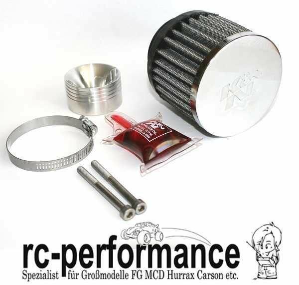 K&N Tuning Luftfilter CNC Gefräst FG HPI MCD CF DDM Carson Smarttech