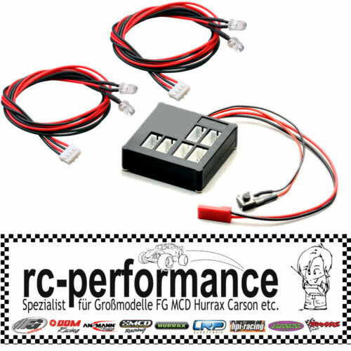 LED Beleuchtungseinheit für Ihr RC-CAR FG HPI Hurrax