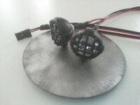 Led Scheinwerfer 2-fach Lichterleiste Traxxas Tamiya Jamara