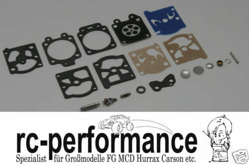 Reparatur Kit für Walbro Vergaser FG Beetle Marder Carbon Fighter MCD HPI