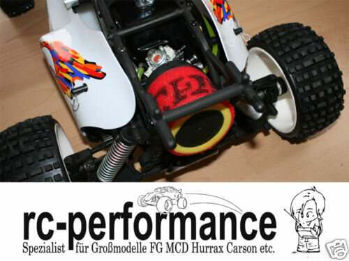 TGN Vorfilter für FG Marder Monster Beetle Reely HPI Losi Carbon Fighter