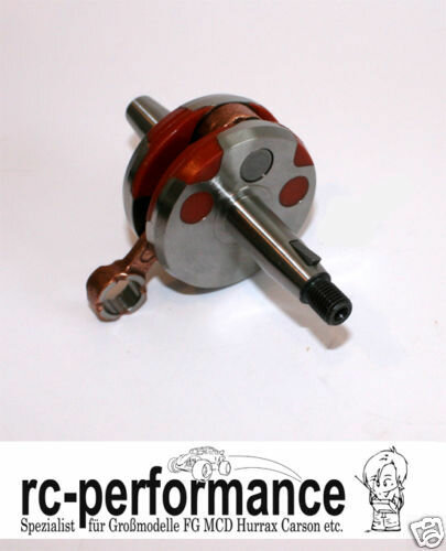 Tuning Kurbelwelle + 1mm geschlossen FG Hurrax MCD  Carson CF MCD Zenoah
