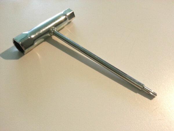 Zündkerzenschlüssel für CY Torx  Sikk FG Hurrax  MCD CY