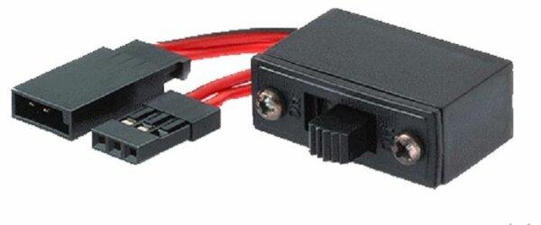 EinAus Schalter mit Kabel JR für FG MCD Hurrax Reely