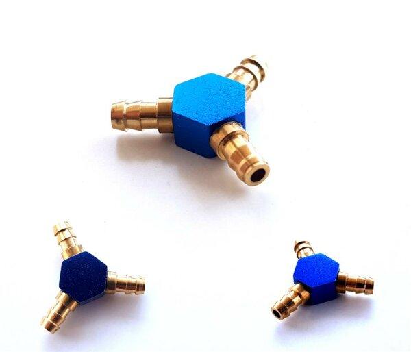 Kraftstoffschlauch T - Verbinder Benzinschlauch Kopplung Schlauchverbinder