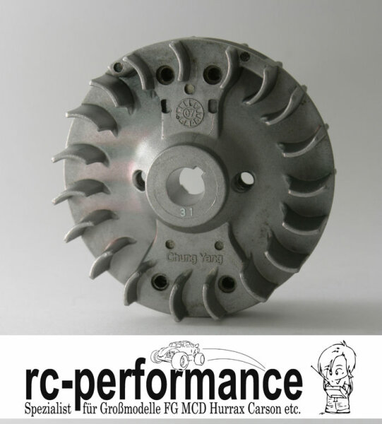 Lüfterrad  für Zenoah CY Motoren FG Hurrax MCD Zenaoh HPI CF Rovan Hörmann
