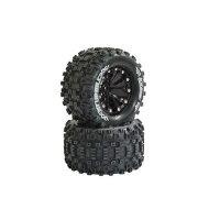 Louise Reifen+Felgen 1:10 12mm Short Course Räder...