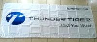 Thundertiger 1307 Banner TT ROCK YOUR WORLD Neu