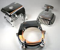 Chrom Bundle Motor Abdeckung FG MCD HPI CY Zenoah CY Sikk...
