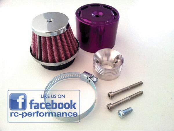 Luftfilter SET LILA Purple FG Hurrax MCD Carbon Fighter CF Losi HPI