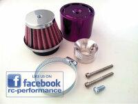 Luftfilter SET LILA Purple FG Hurrax MCD Carbon Fighter...