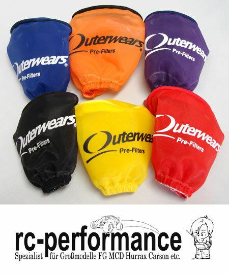 Outerwears Luftfilter Vorfilter FG Carson Losi HPI Zenoah CY Motor Feinfilter