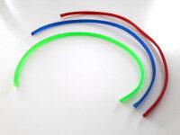 Geflechtschlauch Gewebeschlauch Kabelschutz farbig 6 - 11...
