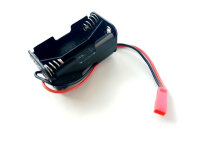 Batterie Box  4x Mignon Zellen AA mit BEC Stecker...