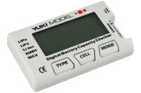 Digital Battery Capacity Checker NiCdNiMH  LiFe LiPo