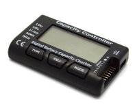 Digital Battery Capacity Checker NiCd NiMH  LiFe LiPo