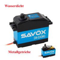 Savöx Servo SW-0240MG 35 KG sehr schnell wasserdicht...