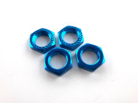Radmuttern 17mm selbstsperrend  Blau VE 4 Kyosho Traxxas...