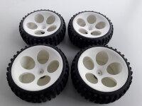 4 Stk. FG Reifen für Marder Buggy etc 2x Schmal 2x...